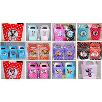 Cajitas Para Golosinas -minnie-mickey-sapo Pepe-kitty-barbie
