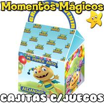 10 Cajita Feliz Souvenirs Cumple Henry Monstruito + 7 Juegos