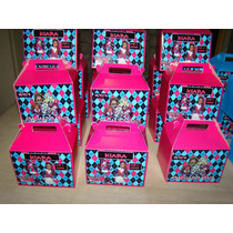 10 X $95 Cajitas Feliz Golosineras Personalizadas Grandes
