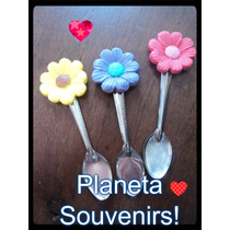 Souvenirs Porcelana! Cucharas Decoradas! Fiestas Infantiles