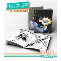 Batman - Librito Pintar Para Imprimir
