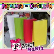 Bolsa De Papel Lisas Varios Colores X50 Unidades Quilmes