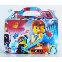 Cajita Bolsita Lego Movie Souvenirs Infantiles Pack X100