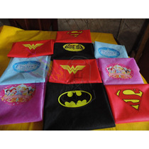 Capas Superman, Batman ,mujer Maravilla,princesas,frozen