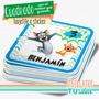 Tom Y Jerry - Topper Para Imprimir