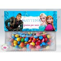Frozen Bolsas Golosinas Personalizado Suvenir Cumpleaños X30