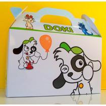 Cajita Bolsita Doki Souvenirs Infantiles Pack X100