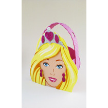 Golosineros Barbie, Frozen Artesanales Goma Eva X 10