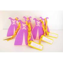 Cajas Souvenirs Cumple Rapunzel Y El Principe Para Golosinas