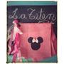 Banderines Arpillera Mickey Disney Minnie Cumpleaños