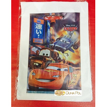 Bolsas Plástico Riñón Cars Ideal Cumpleaños 20x30 (x50)