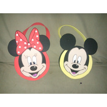 Carterita De Mickey Y Minnie