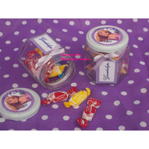 Frascos Golosineros,souvenirs De Vidrio Rapunzel,enredados