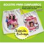 10 Bolsitas C/foto Violetta Frozen Sofia Pocoyo Zou Y Más