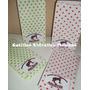 Bolsa Bolsita Lunares + Stickers Personalizado Cotillon