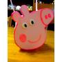 Bolsitas Souvenirs De Goma Eva Para Cumpleaños Peppa Pig