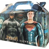 Batman Superman Bolsita Golosinera Souvenir Pack X 10 Nueva!