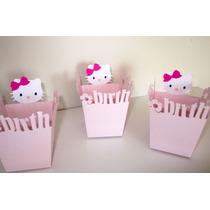 Caja Golosinera / Bolsita Souvenir Cumple Hello Kitty Cajita