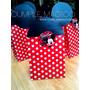 Souvenirs Bolsita Mickey Minnie Con Sticker Personalizado