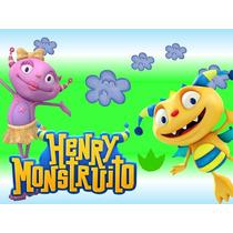 Kit Imprimible Henry El Monstruito Tarjetas - Candy