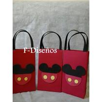 Souvenirs Bolsita Golosinera Modelo Mickey Y Minnie