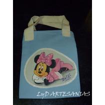 Carteras Bolsitas Cumpleaños Souvenirs Personalizadas Minnie