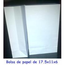 Bolsa De Papel 18x11x6 Envio Gratis A Capital Federal