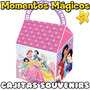 10 Cajitas Souvenirs Princesas Disney Bolsita Golosinera