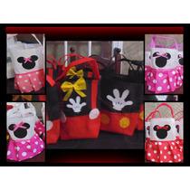 Bolsitas De Cumpleaños De Mickey Y Minnie Unicas