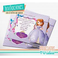 Princesita Sofía - Tarjetita Para Imprimir