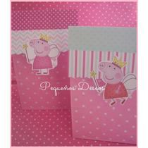 Bolsas Peppa Pig Pack X 10 Unidades