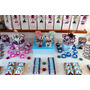 Golosinas Personalizadas Candy Bar Frozen Disney 20 Nenes