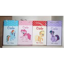 30 Bolsitas De Pequeño Pony Little Pony Para Golosinas