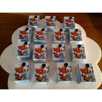 Souvenir Cajita De Mickey Bebe. Entrega Inmediata!!!
