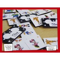 Souvenir Domino Personalizado Madera 6x3cm Disney Mickey