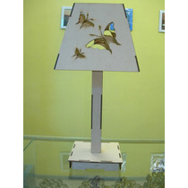 Velador De Mesa Grande 55cm Motivo Que Elijas Fibrofacil
