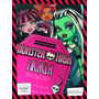 Tarjetas Invitación Evento Cumple Personalizada Monster High