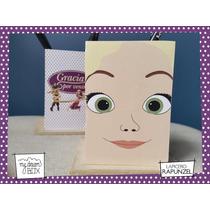 Souvenir Lapicero Personalizado Madera Disney Rapunzel Flyn