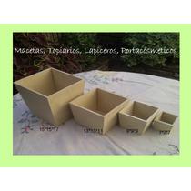 Macetas-topiarios-portacosmeticos-lapiceros Fibrofacil 5,5mm