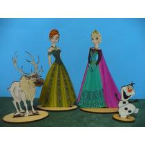 Frozen, Princesa Anna, Elsa, Olaf Y Reno