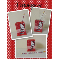 Souvenirs 10 Portalapices Personalizados