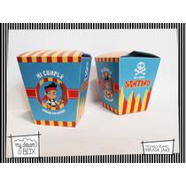 Cajas Eventos Personalizadas Cumpleaños Pirata Jake Disney