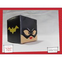 Souvenir Eventos Cumpleaños Caja Lego Batichica Batman Dc
