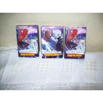 10- Suv.cajas Naipes Hombre Araña 2 Tipo Español Y Memory