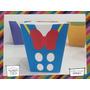 Souvenirs Caja Personalizada Disney Mickey Donald Pochoclera