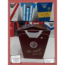 Souvenir Evento Personalizado Caja Futbol Argentino Lanus