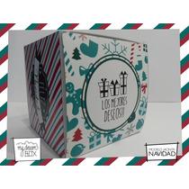 Souvenirs Evento Caja Personalizada Navidad Fiesta Año Nuevo