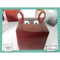 Souvenirs Evento Cumple Caja Animales Granja Caballo Potro