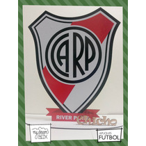 Souvenir Aplique Personalizad Madera 30cm Futbol River Plate