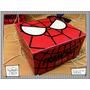 Souvenir Personalizado Cumple Caja Alfajor Heroes Spiderman